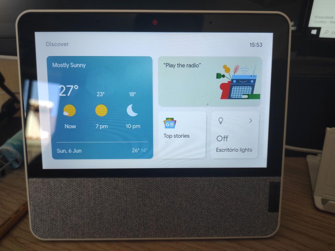 Lenovo Smart Display 7 - Google Assist