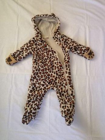 Леопардовый комбинезон