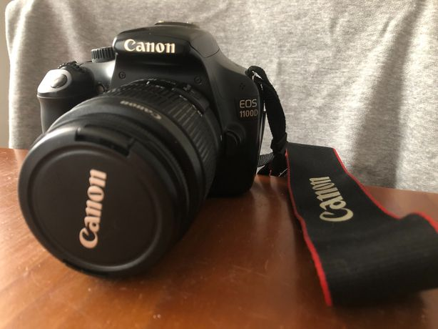 Canon 1100D + 2 objectivas