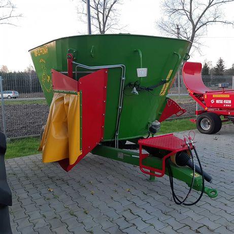 Wóz paszowy PRONAR VMP-5-ST VMP-10-S 5m3 10-m3 12m3 Metal-Fach Bel-mix