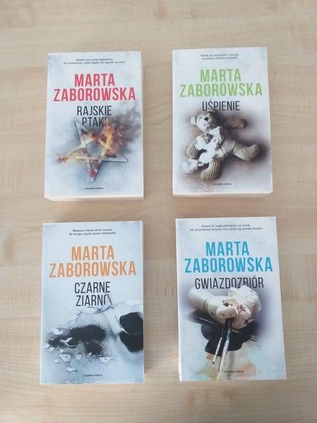 Marta Zaborowska zestaw 4 szt