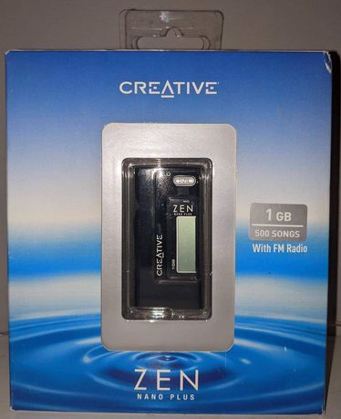 Odtwarzacz MP3 1GB Z radiem. CREATIVE