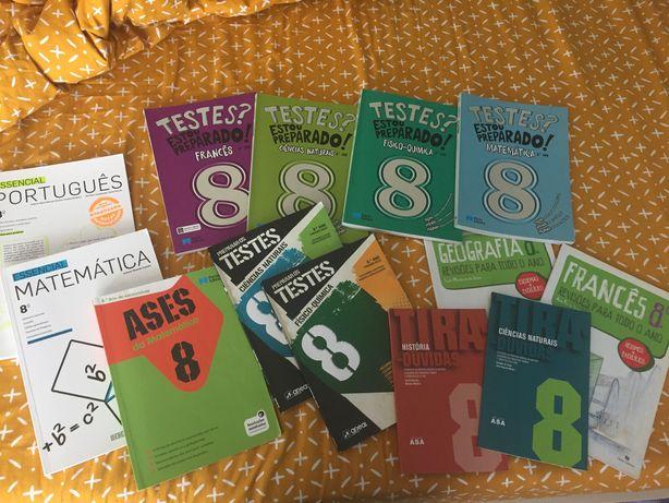 Livros escolares com ctt incluídos, como novos ou novos