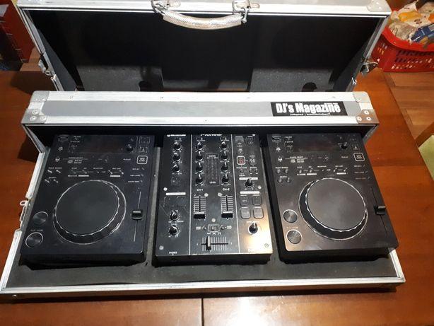 Konsola Pioneer CDJ 350 DJM 350 +case