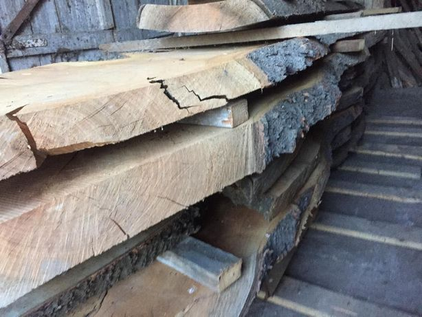 drewno suche, deski, belki