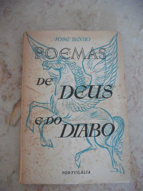 livro Poemas DE DEUS E DO DIABOS - José Régio 1955
