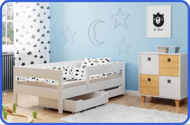 Детская кровать 140х70 160х80 180х80 180х90 200х90- Польша !!! -ДН-КР