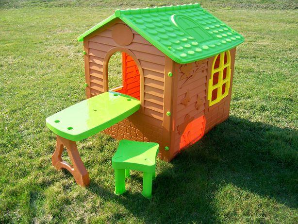 Domek dla dzieci Ogrodowy ze Stoliczkiem i krzesełkiem Mochtoys