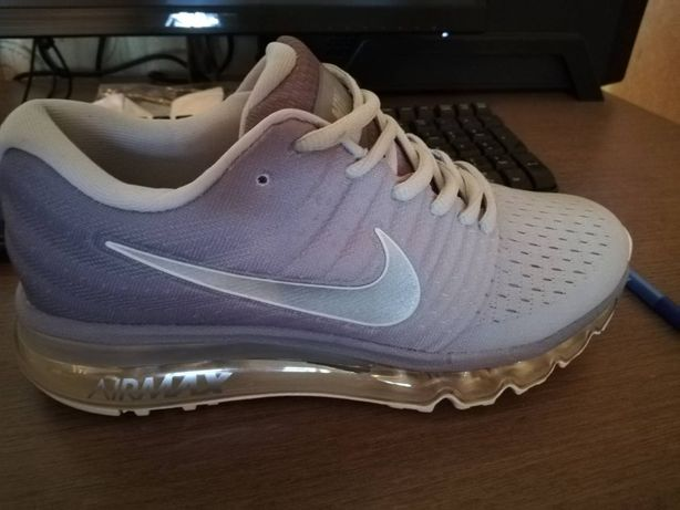 Nike air max 2017 white gray