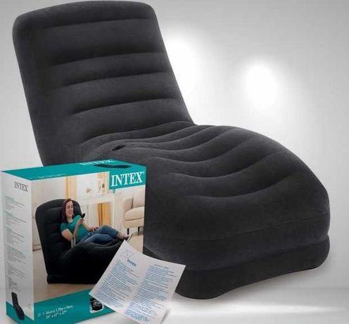 Кресло- лежак надувное. Уютное и практичное