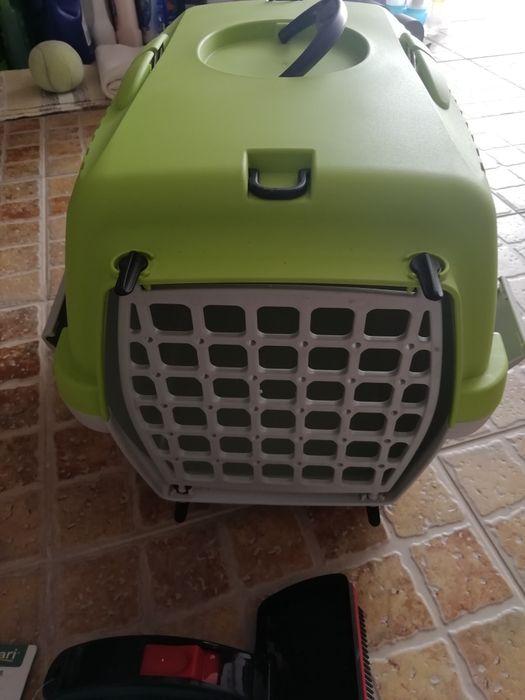 Caixa transporte cão /gato Gâmbia-Pontes-Alto Guerra - imagem 1