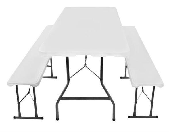 Стіл складной 1,80 м + 2 лавки Комплект стол 2 лавки