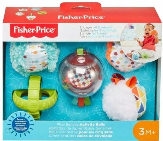 Fisher-Price Piłeczki Pięć Zmysłów zabawki sensoryczne