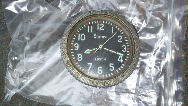 Часы танковые авиационные 5 дней.1941г.
