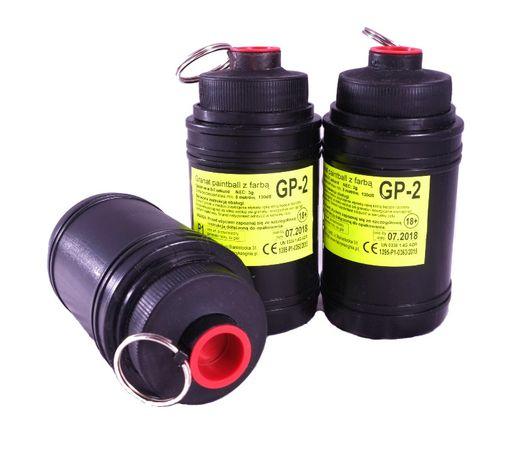 Granat Paintball GP-2 z farbą