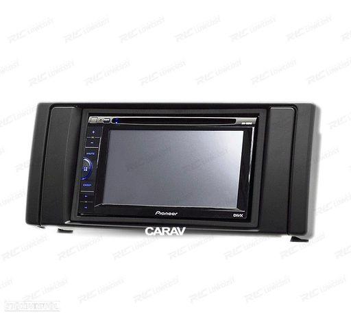 MOLDURA / ADAPTADOR PRETO PARA RADIO 2-DIN BMW SERIE 5 E39 Y X5 E53