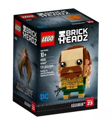 Lego 41600 Brick Headz Aquaman Avenidas Novas - imagem 1