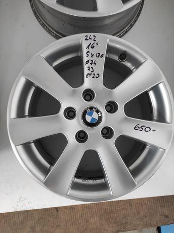 242 Felgi aluminiowe BMW R 16 E 39 5x120 otwór 74 Ładne