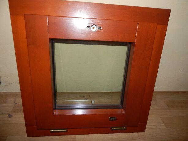 Okno drewniane sosna