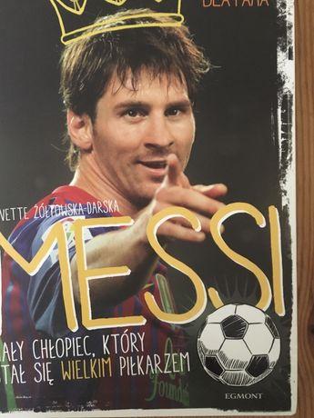 Messi- mały chlopiec, który stał się wielkim piłkarzem