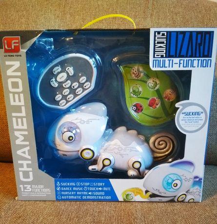 Интерактивная игрушка робот хамелеон на радиоуправлении