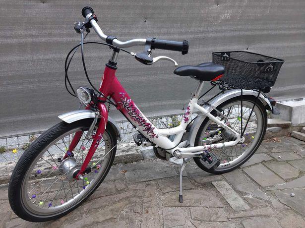Rower SKYride 20 cali ALUMINIOWY przerzutki koszyk