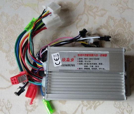 Контроллер 350Вт 36/48В 18А для электро - вело самоката мотора