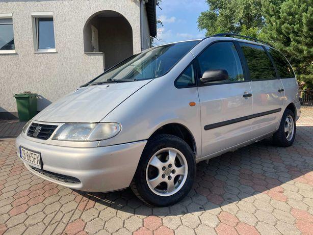 Seat Alhambra 1.9 TDI 90 KM*Klima,Alusy,7 osobowy,Hak*Ważne opłaty!