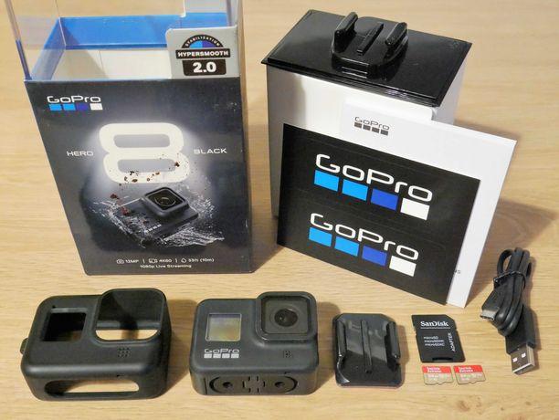 Kamera GoPro HERO 8 Black (Bez kart SD)