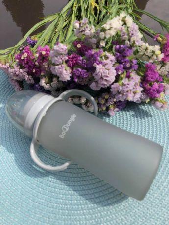B-Thermo Butelka szklana Grey 150ml Bo Jungle