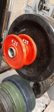 Obciążenia olimpijskie fi 51 2x 1.25 kg REORDÓWKI