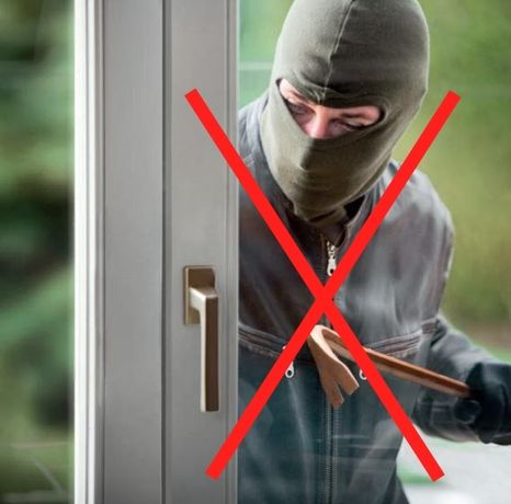 Защита окон,дверей от взлома. Противовзломная, Антивзломная фурнитура.