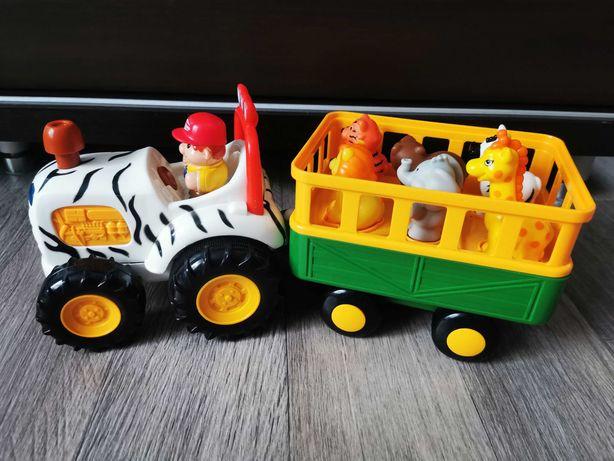 Развивающий трактор Сафари с животными, световыми-звуковыми эффектами