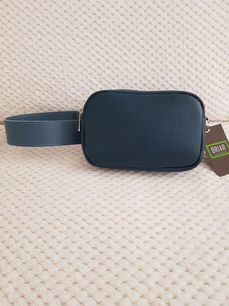 Кожаная поясная сумка Briar