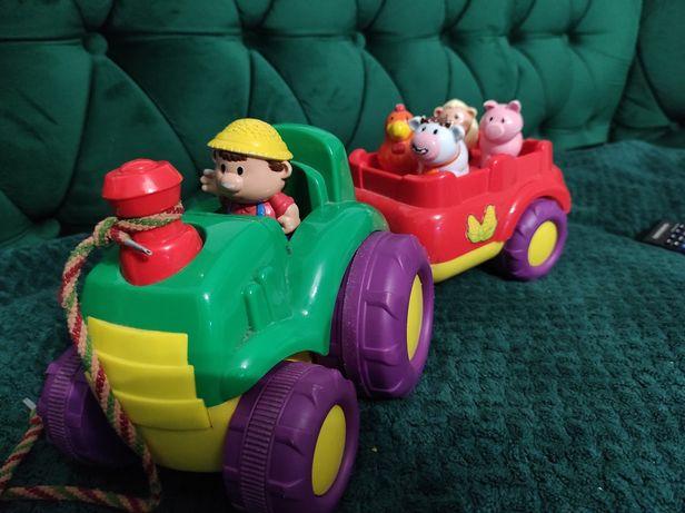 Muzyczny traktor - zabawka interaktywna