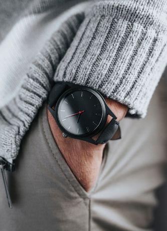 Zegarek MĘSKI PREMIUM - NOWY - ELEGANCKI klasyczny czarny