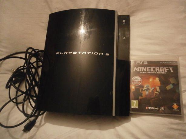 KONSOLA PlayStation 3 GRA Stan BDB + Minecraft ZESTAW Okazja!