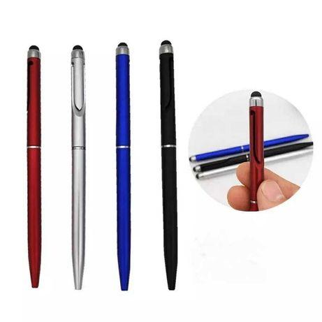 Стилус с автоматической шариковой ручкой для смартфонов и планшетов.