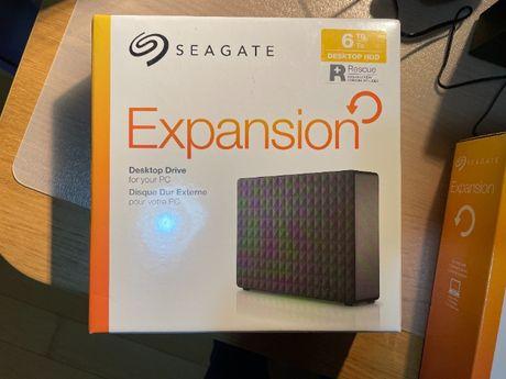 Disco Rígido Externo 6TB - Seagate - USB 3.0 - Selado - 3.5'