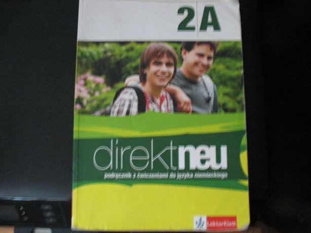 Direktneu podręcznik z ćwicz.do j. niemieckiego2A