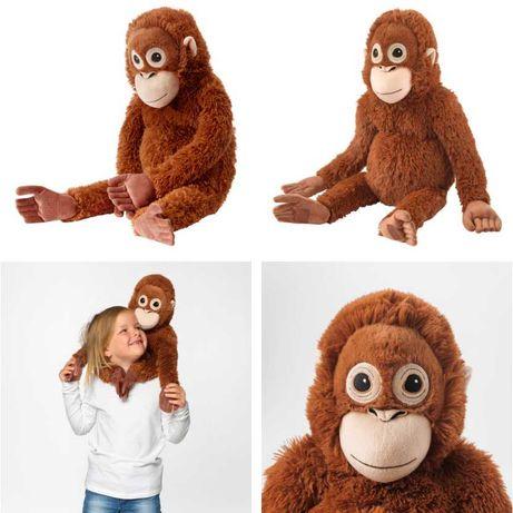 Плюшевая игрушка Обезьянка 66 см IKEA - детская мягкая мартышка