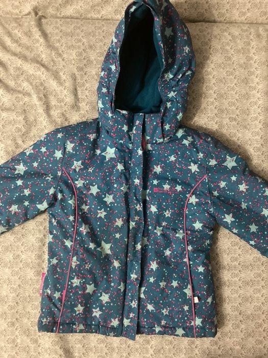 Куртка зима для девочки 110 рост Новомосковск - изображение 1