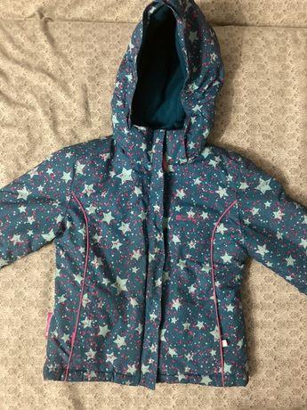 Куртка зима для девочки 110 рост