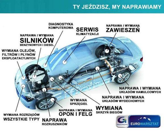 Serwis samochodowy mechanika pojazdowa warsztat naprawy bieżące