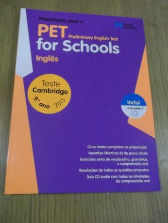 Manual de Preparação para o PET For Schools Inglês 9º ano