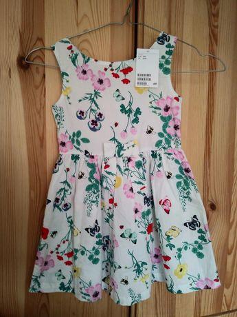 104 sukienka h&m 3-4 lata Nowa