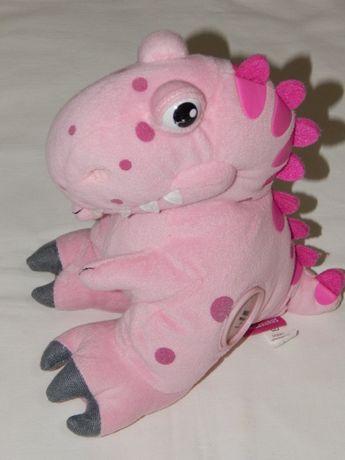 Милашный розовый динозаврик. Мягкая игрушка Dinosaurus.