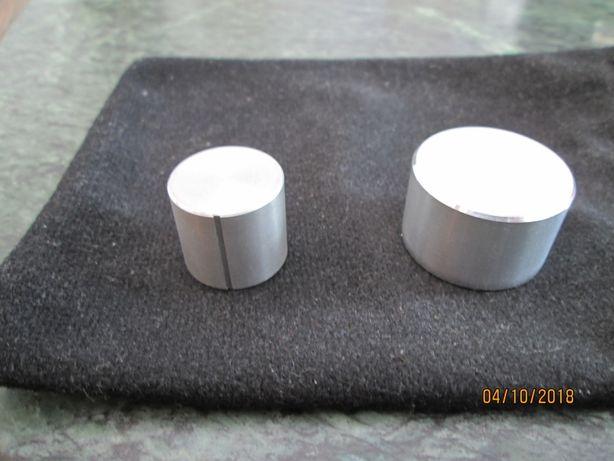 Gałki UNITRA aluminiowe-nowe