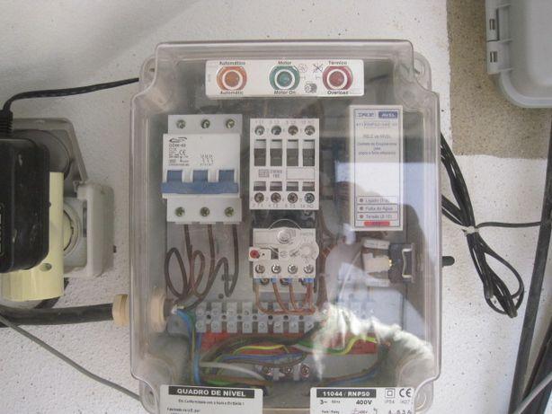 Quadro eléctrico para bomba de furo, como NOVO