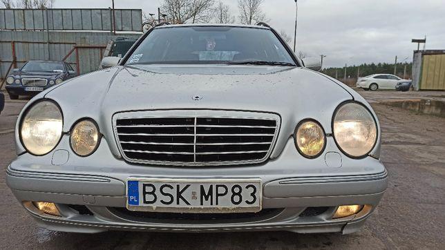 Mercedes E 200, 2.0 benz. 2000r., Automat, długie OC i BT !
